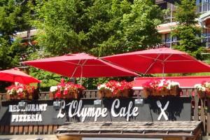 Restaurant Olympe Café les Saisies bar pub terrasse
