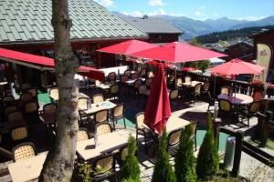La terrasse de l'Olympe Café restaurant bar les saisies