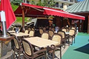 terrasse groupe olympe café les saisies restaurant bar