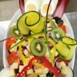 Salade du Restaurant La table de l'Olympe